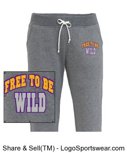 Free to be Wild - women's jogger pants Design Zoom