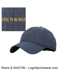 Free to be Wild - Adult Hat Design Zoom