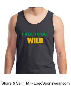 Free to be Wild - Men's T-shirt Design Zoom